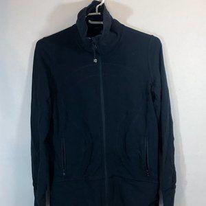Women's Black Lululemon Zip Up Jacket Size 8